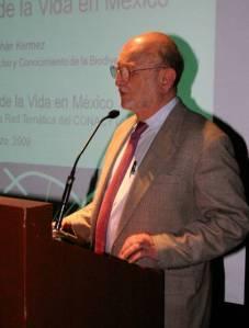 Dr. José Sarukhán Kermez, CONABIO